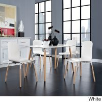 Modway Stack Wood Dining Chairs (Set of 4) - Walmart.com