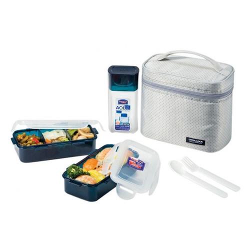 Lock Lock 6 Container Food Storage Set Walmartcom