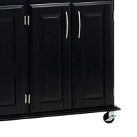 Home Styles Furniture Madison Kitchen Cart in Black