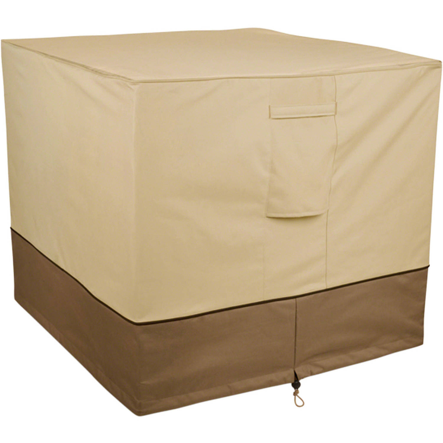 Air Conditioning Covers Classic Accessories Veranda Square Patio Air Conditioner Storage Cover Fits Up To 34
