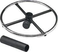 Stool Kit with Adjustable Metal Foot Ring - Walmart.com