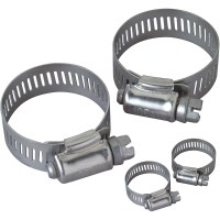 Peerless Assorted Stainless Steel Hose Clamps, 4-Pack ...