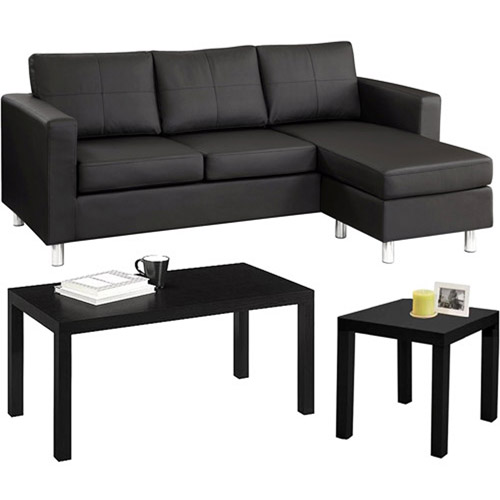 Small Spaces Living Room Value Bundle - Walmart - living room chairs walmart
