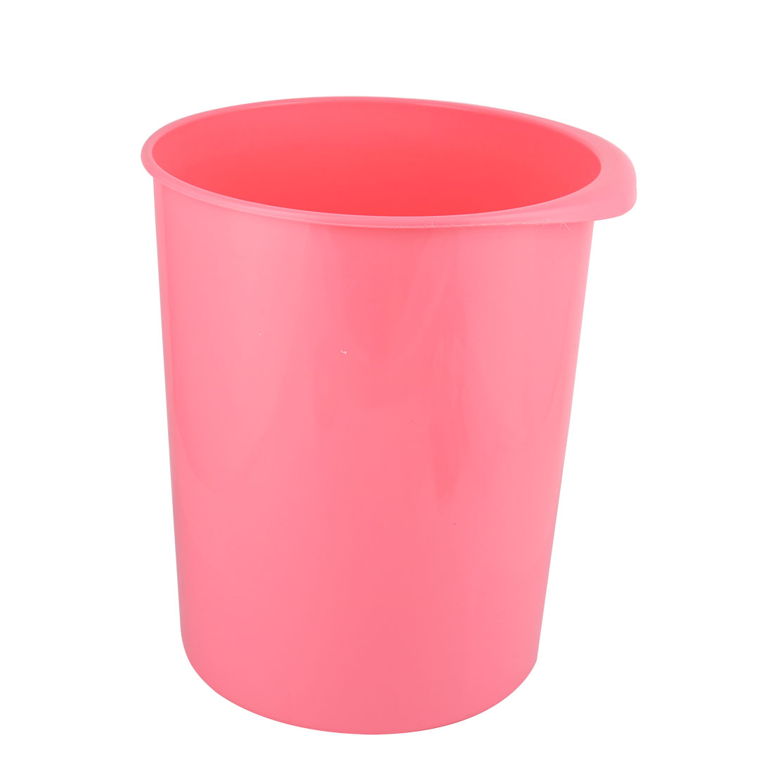 Garbage Bins Walmart Family Office Plastic Round Shaped Trash Can Dustbin Garbage Container Pink