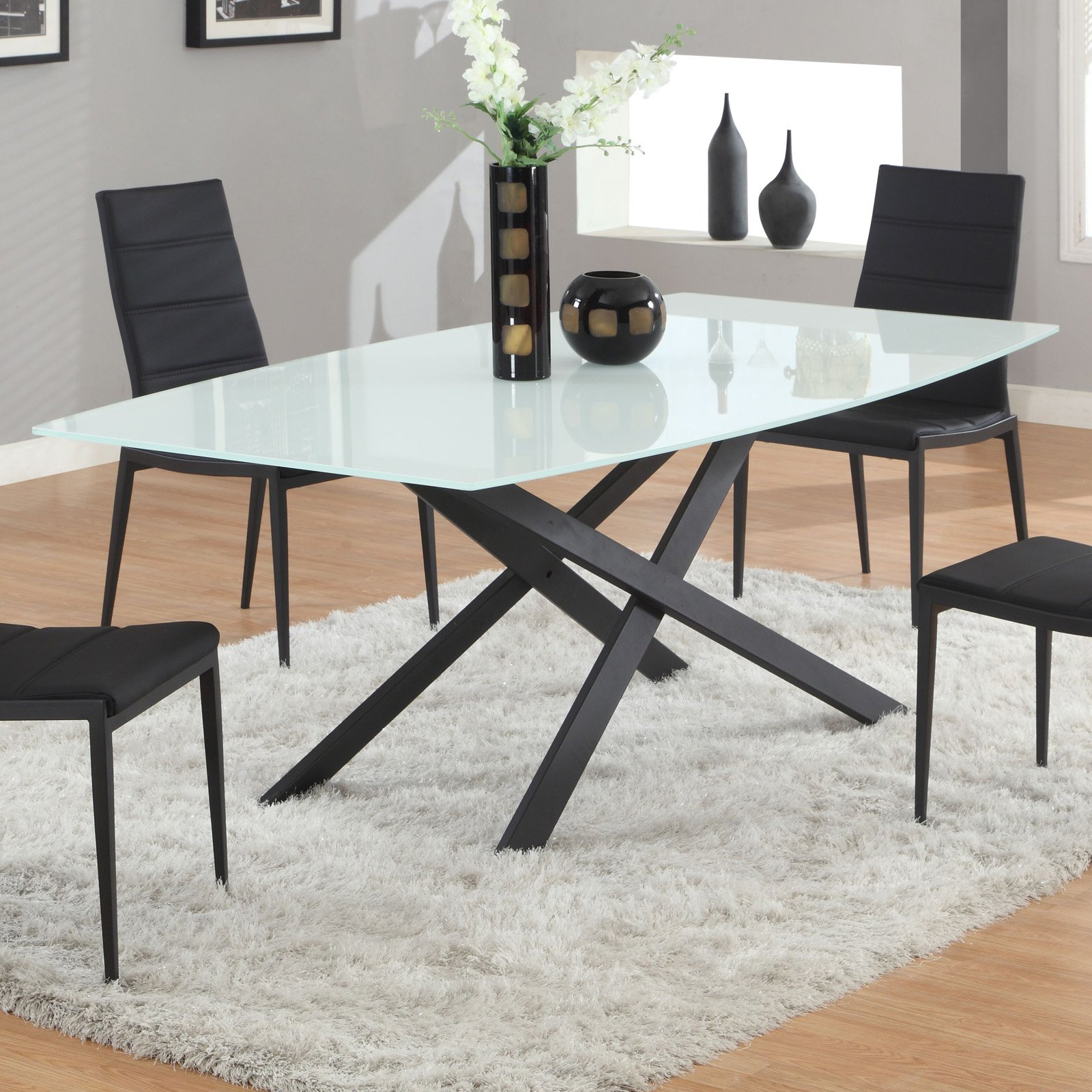 Jackie Glass Chintaly Jackie Glass Dining Table