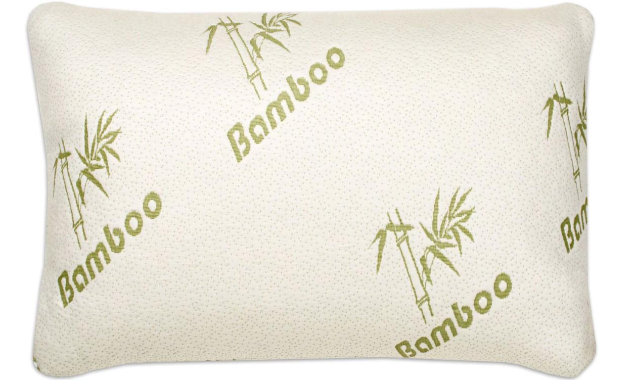 Firm Memory Foam Pillow Hotel Comfort Bamboo Firm Memory Foam Pillow Cool Cover With Zipper