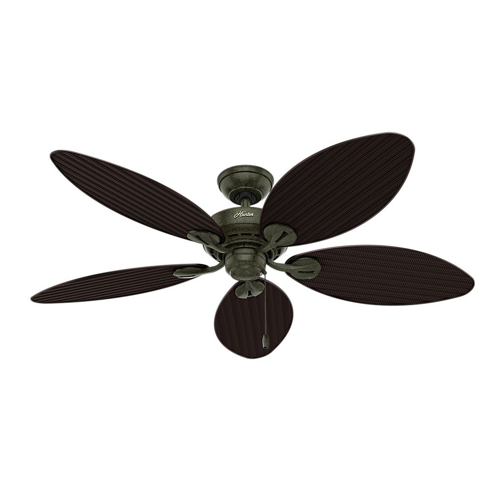 Black And Gold Ceiling Fan Hunter Fan 54