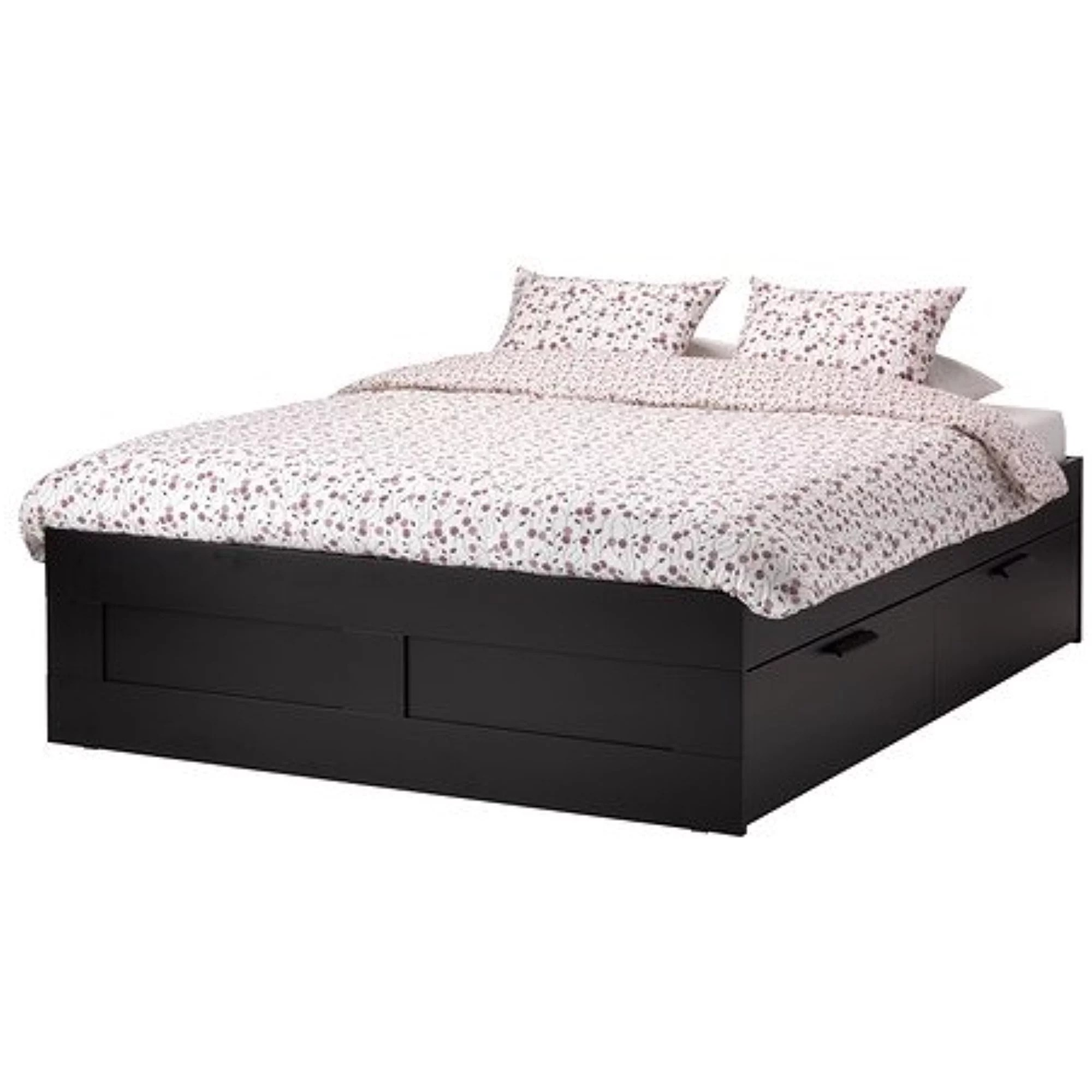 Ikea Boxspring 220 Cm Ikea King Size Bed Frame With Storage Black 38382 22026 220