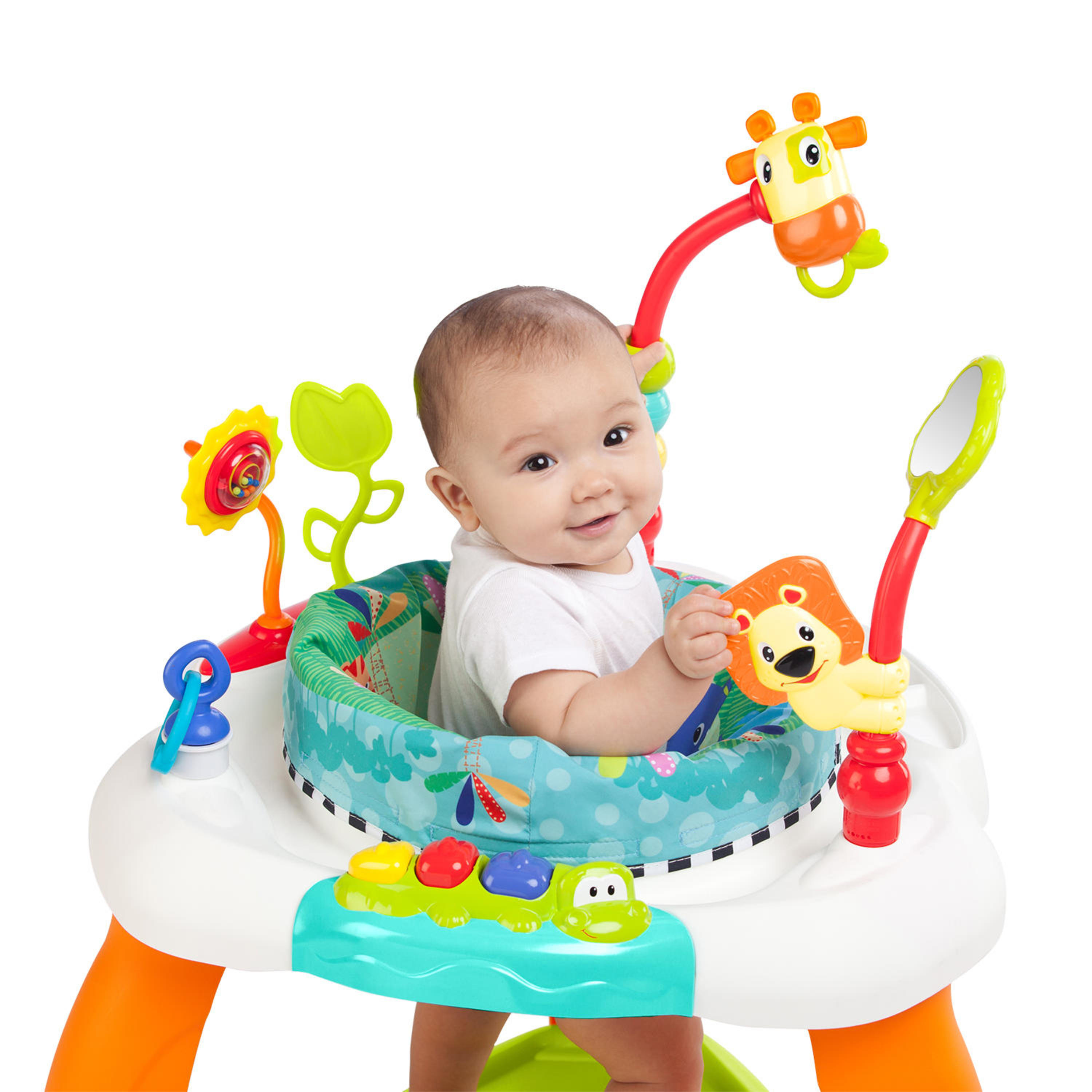 Baby Activity Center Details About Bounce Baby Exercise Bright Starts Activity Center Exersaucer Child Learning