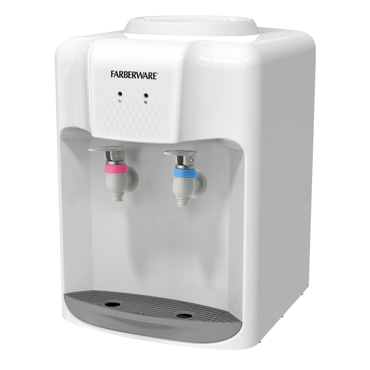 Countertop Instant Hot Water Dispenser Farberware Fw Wd211 3 5 Gallon Countertop Hot And Cold Water Cooler Dispenser White