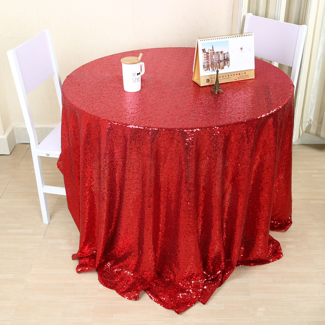 Square Tablecloth Sequin Rectangle Round Square Tablecloth Table Cloth Cover