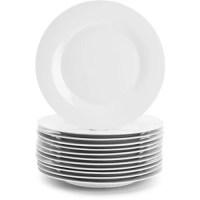 """10 Strawberry Street Catering Pack 10.5"""" White Dinner ..."""