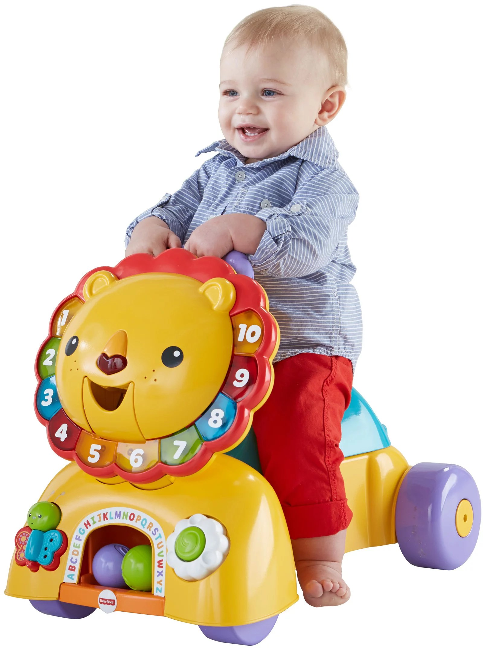 Juguetes Para Bebes De Tres Meses Fisher Price Musical Lion Baby Walker Walmart