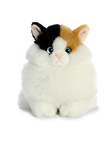Cat Plush Toy Aurora World Fat Cats Plush Toy Animal Munchy Calico 7