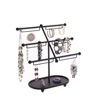 Earring Holder and Bracelet Stand Jewelry Organizer ...