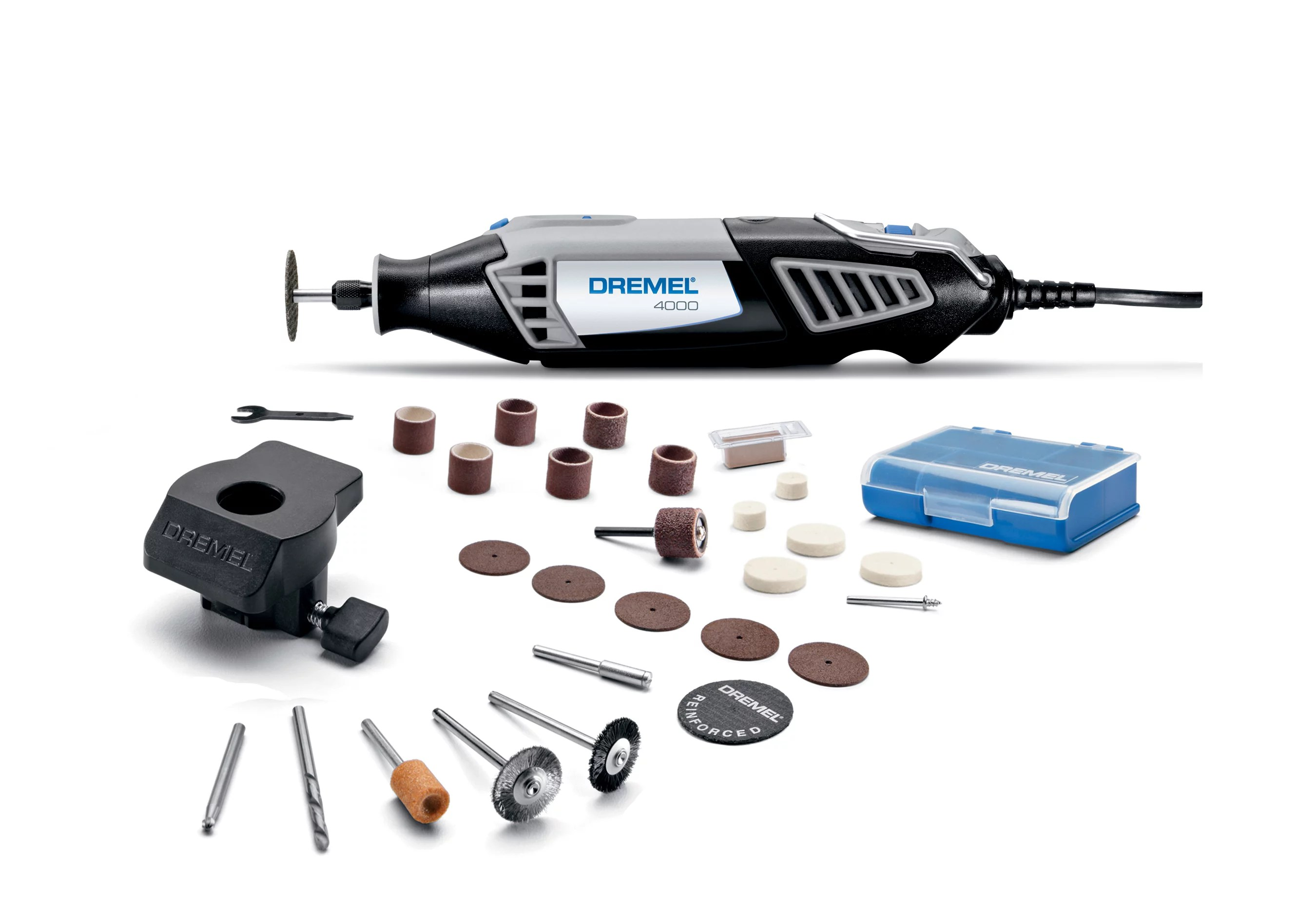 Dremel Hulpstukken Dremel 4000 1 26 1 6 Amp Corded Variable Speed Rotary Tool