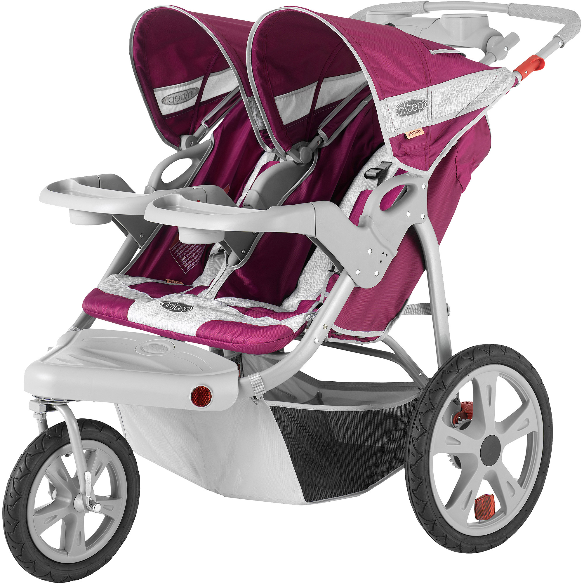 Double Stroller Expensive Instep Safari Double Jogging Stroller