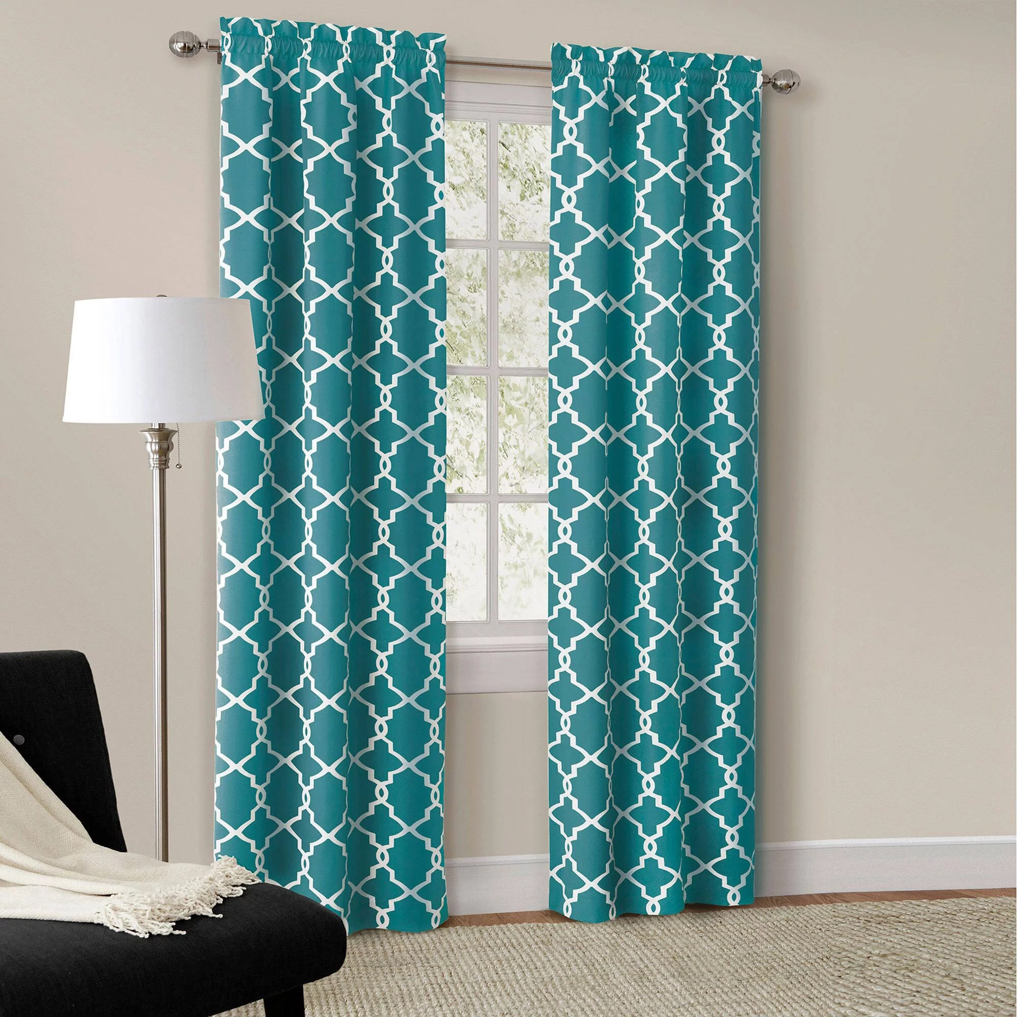 Curtains For Sale At Walmart Mainstays Calix Fashion Window Curtain Panel Set Of 2