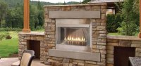 "Outdoor Loft 42"" Premium Fireplace OLP42FP72SP - Liquid ..."