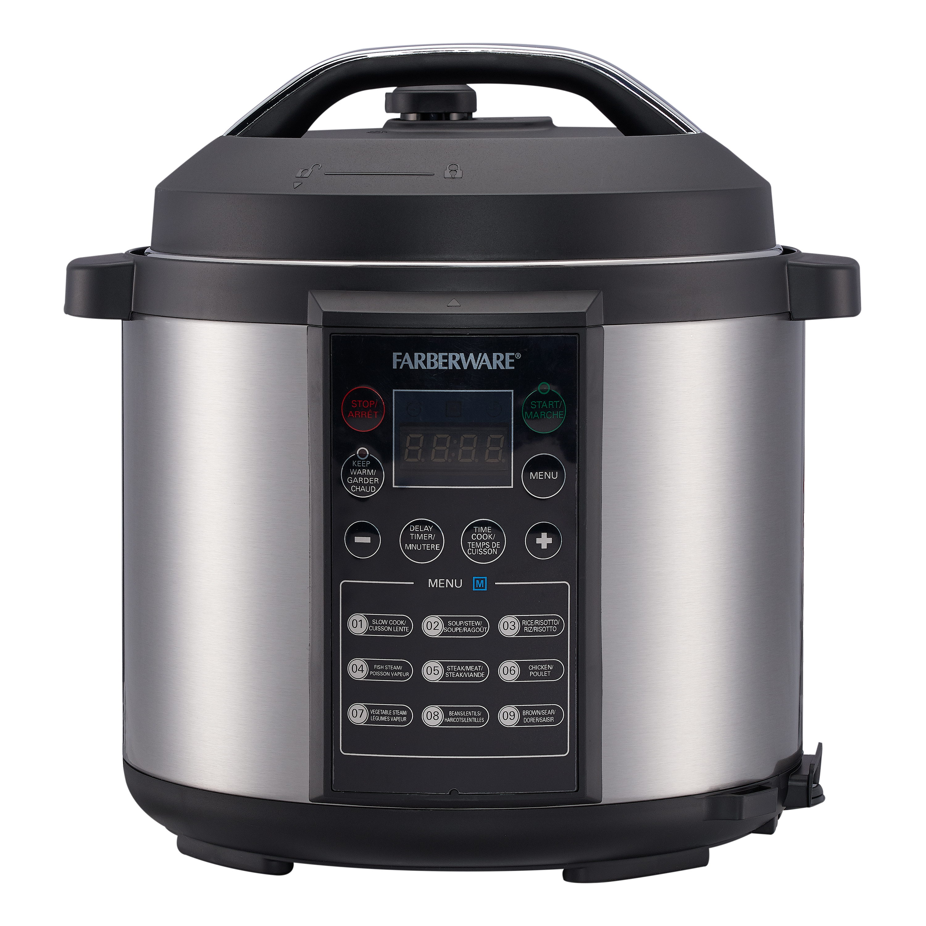 Big W Pressure Cooker Farberware Programmable Digital Pressure Cooker 6 Quart Walmart