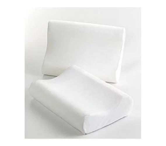 Visco Contour Memory Foam Pillow With Cover Walmartcom