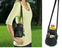 Water Bottle Holder With Shoulder Strap