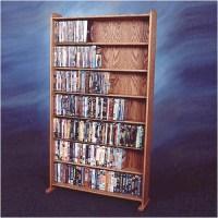 Wood Shed 700 Series 399 DVD Multimedia Storage Rack ...
