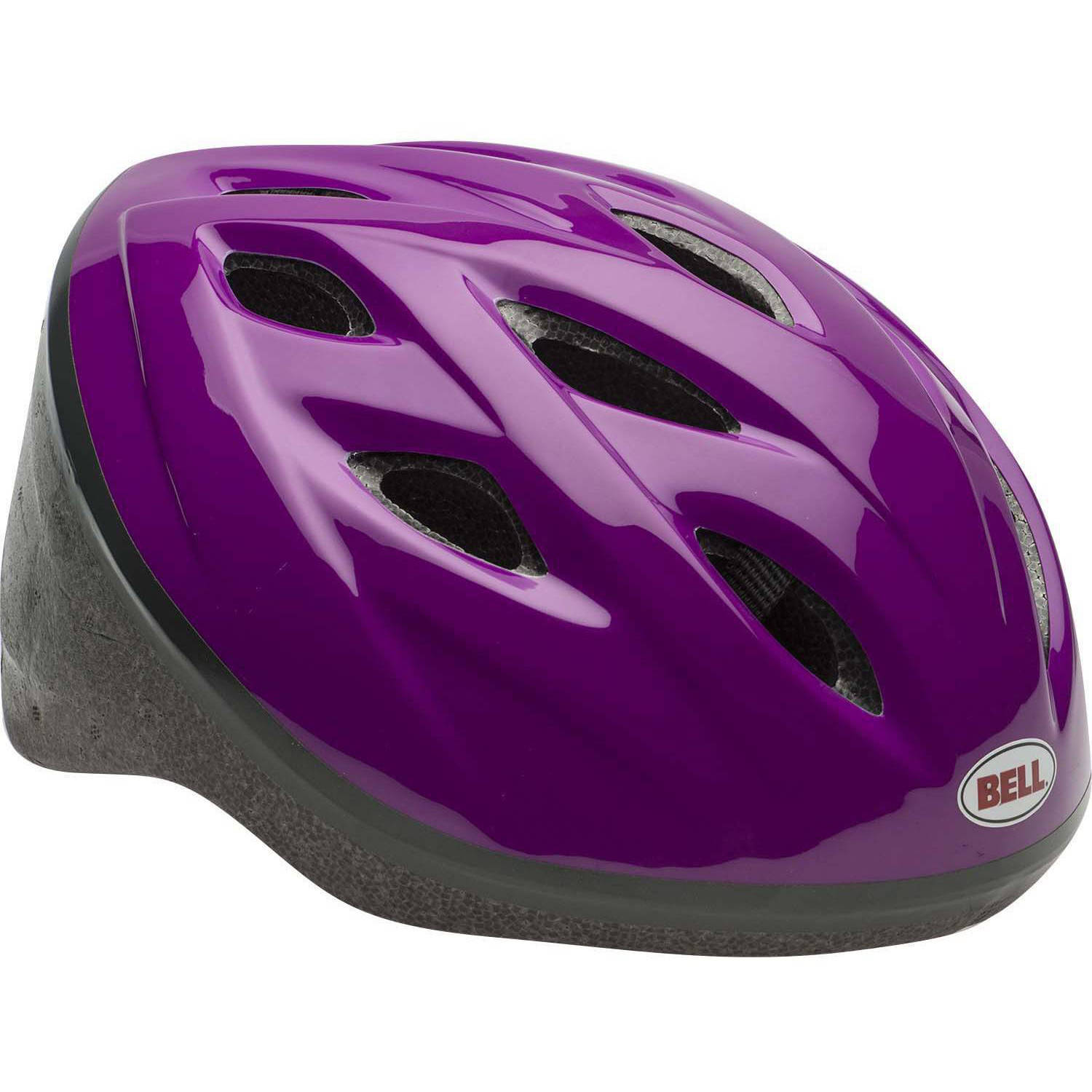 Bell Sports Star Child Helmet Purple Walmart Com - Baby Safety Helmet Walmart