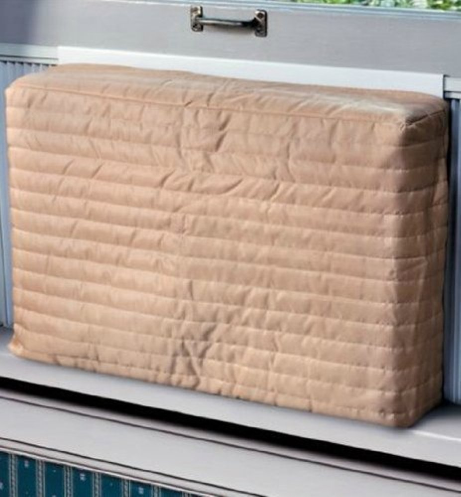 Air Conditioning Covers Indoor Air Conditioner Cover Beige