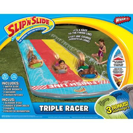 Wham-O Slip 'N Slide Triple Racer with 3 Boogies
