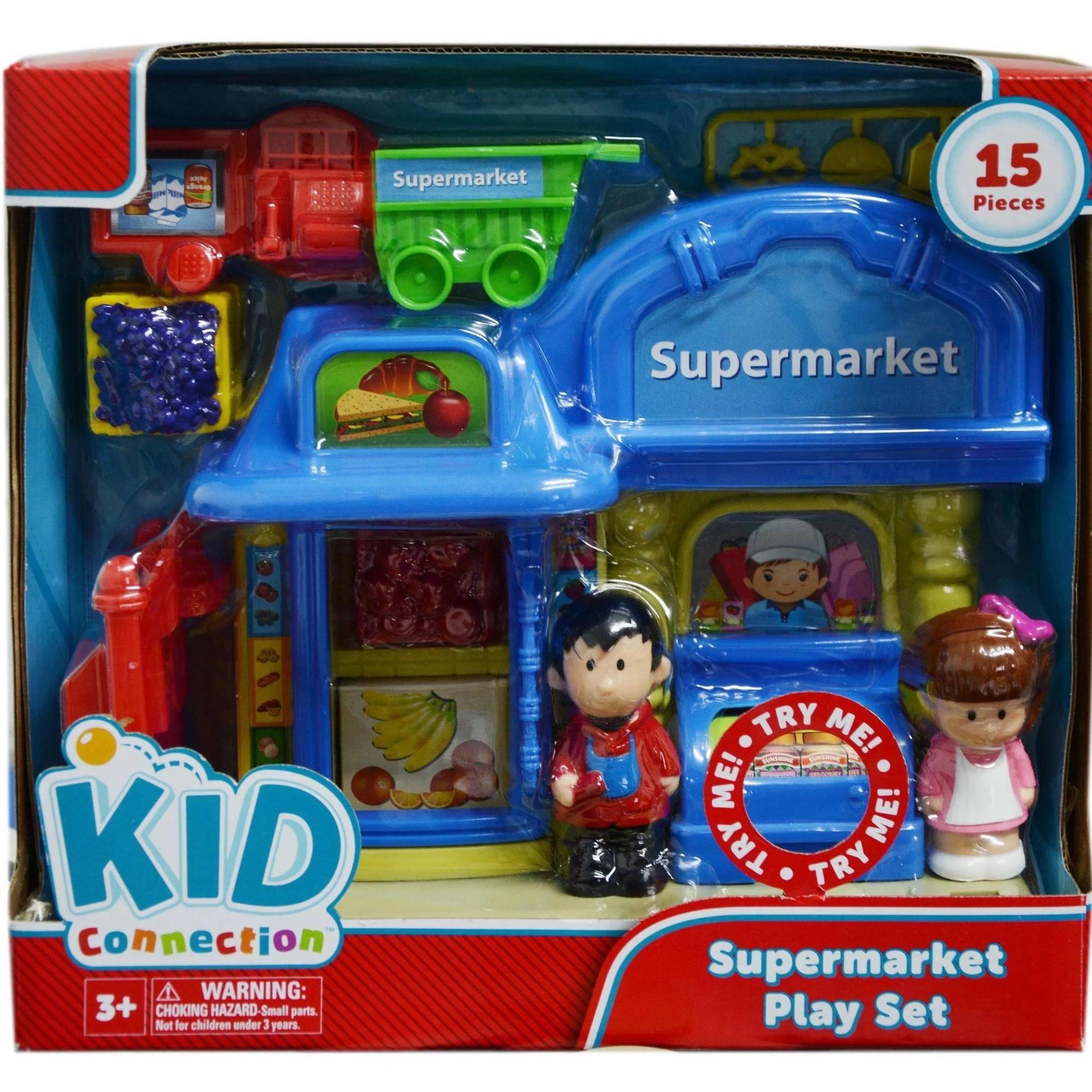 Kid Connection Supermarket Play Set Walmart