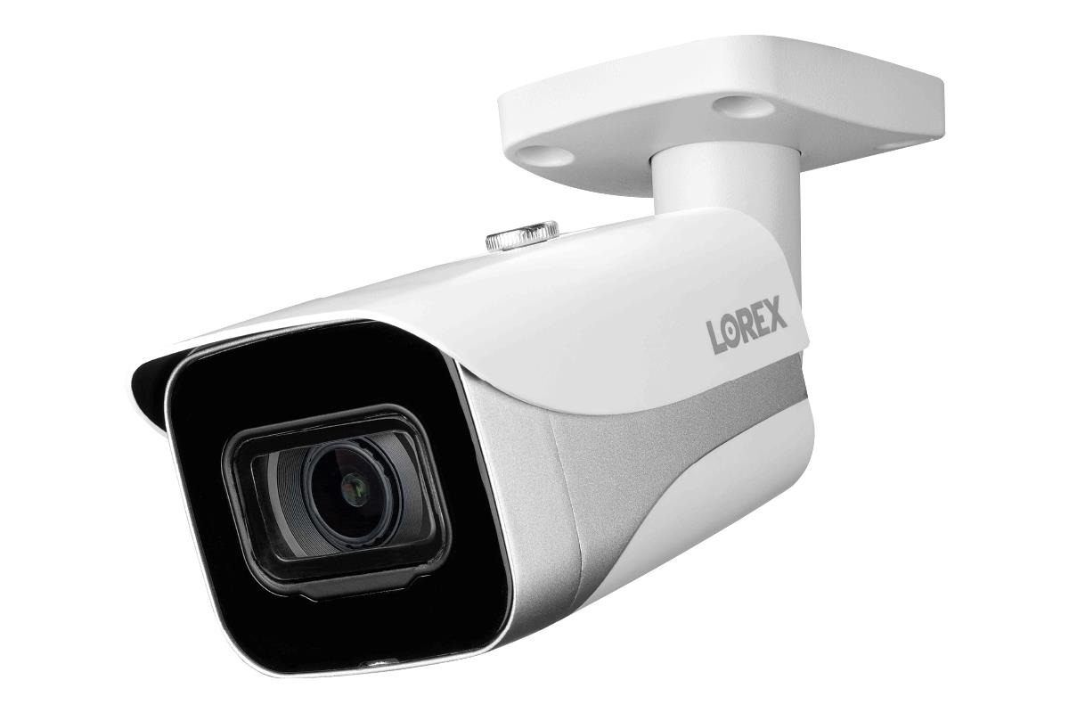 Lorex E861ab E Indoor Outdoor 4k Ultra Hd Smart Ip Security Bullet Camera 2 8mm 130ft Ir Night Vision Color Night Vision Works With N841 Lnr600 Lnr6100 N861b N881b Series Acjncd4b White Walmart Com Walmart Com