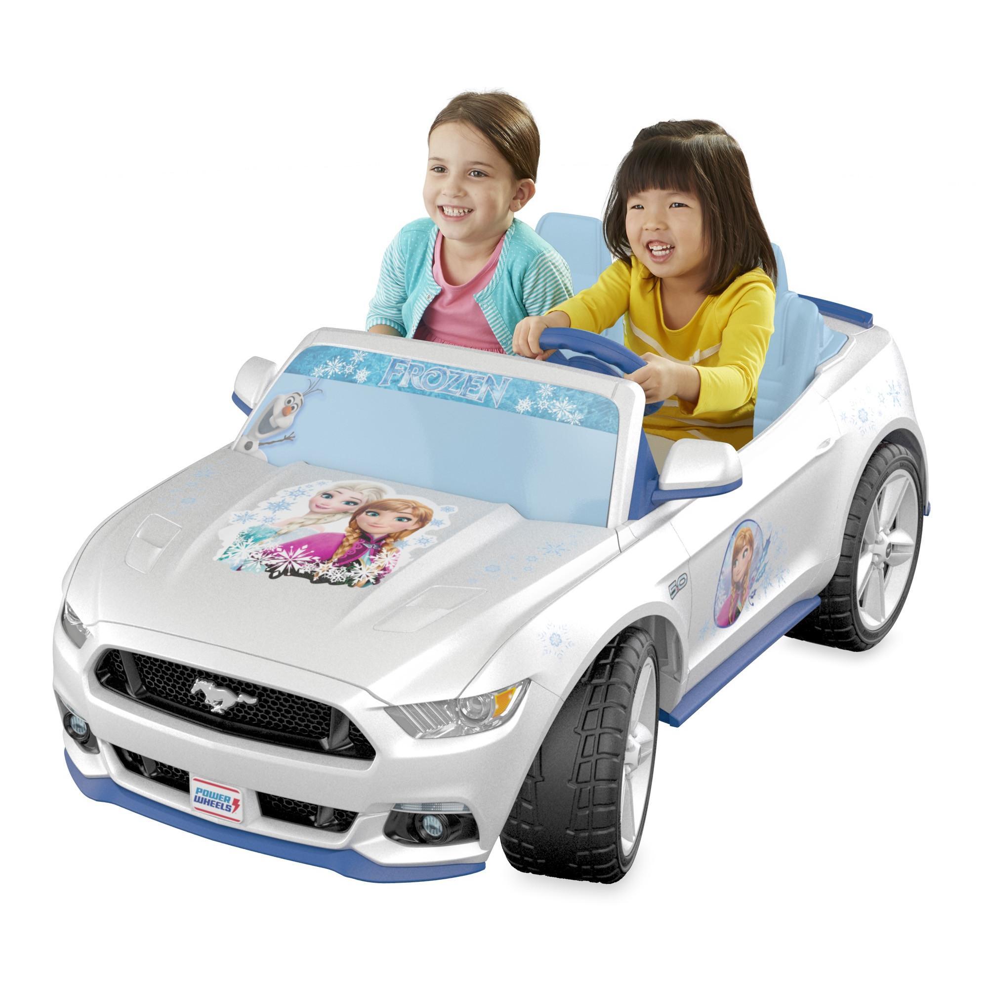 Fisher Price Power Wheels Smart Drive Disney Frozen Ford