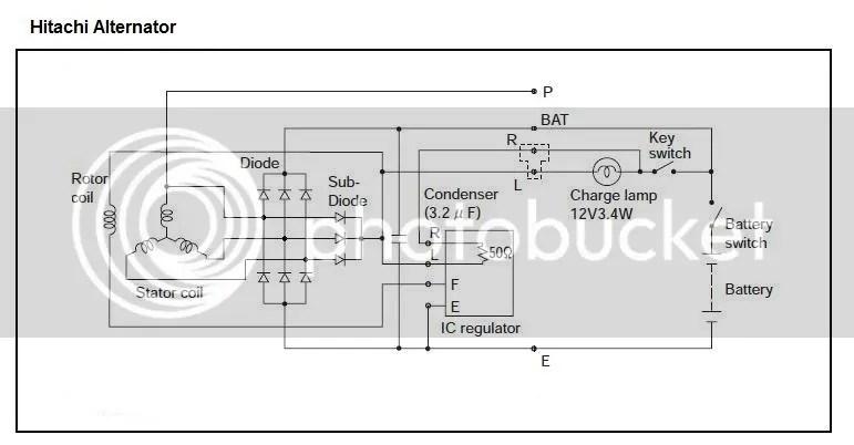 Adding a W terminal to alternator