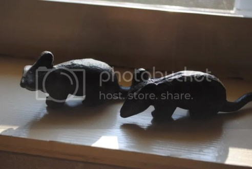 Cast Iron Mice from Boyce Feed & Seed