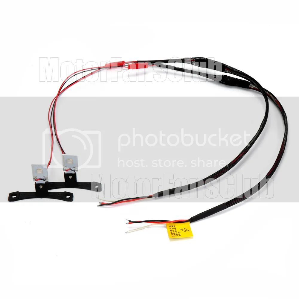 t10 12 volt wire harness