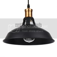 Vintage Chandelier Pendant Light Retro Industrial Ceiling ...