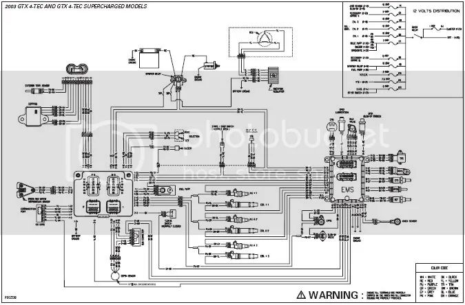 sea doo gtx wiring diagram