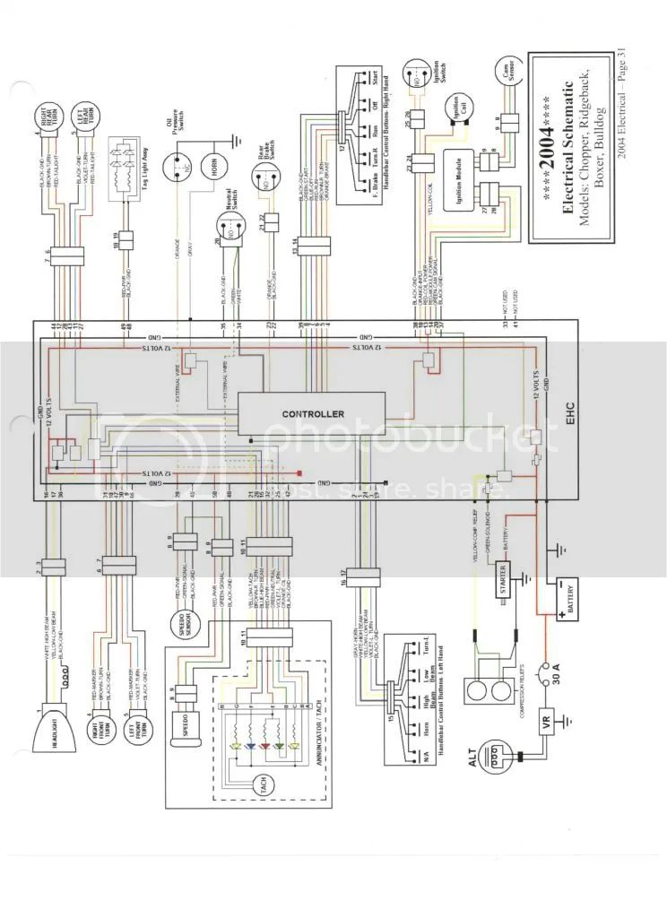 wire harness diagram of chopper