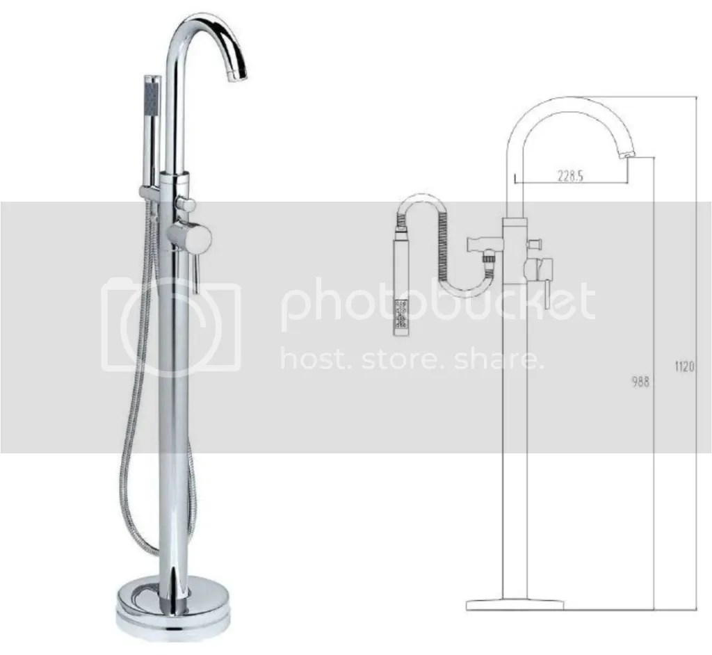 Freestanding Bath Taps Free Standing Bath Shower Mixers