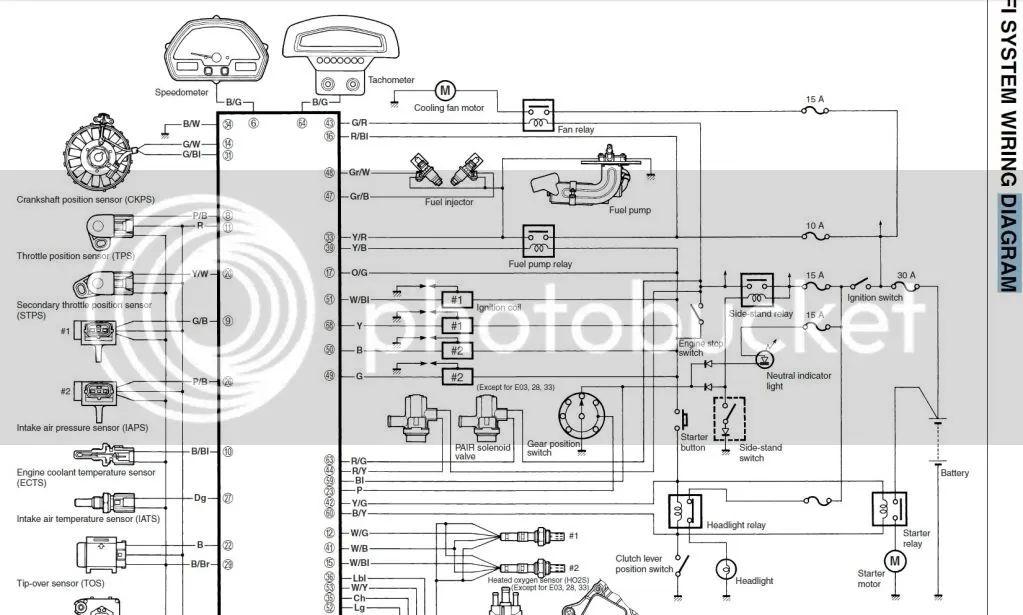 suzuki m109r diagram