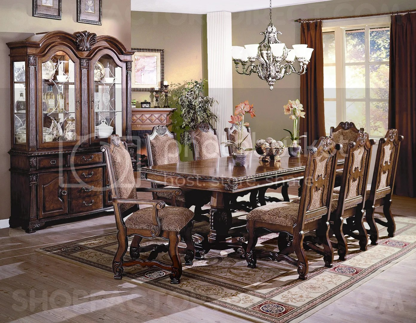 Lounche Dining Set Neo Renaissance Formal Dining Room Furniture Set With