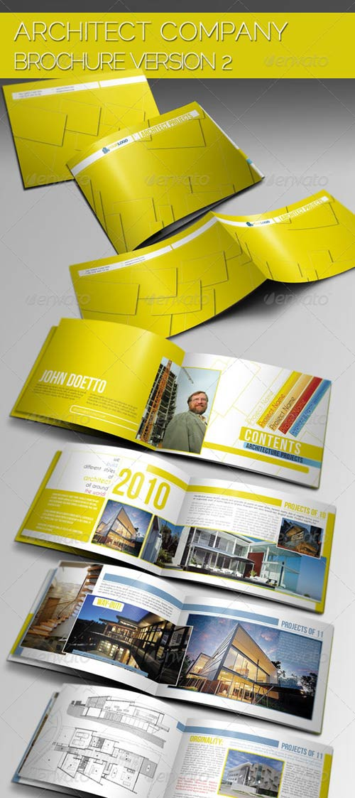 GraphicRiver Architecture Brochure Template VerII » Best site for