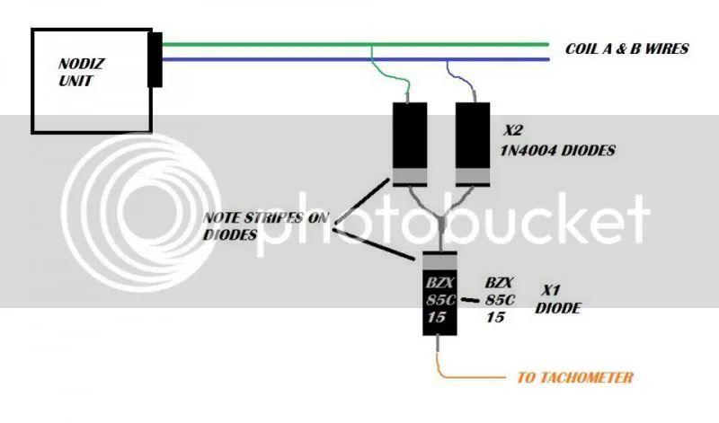 rev counter wiring diagram