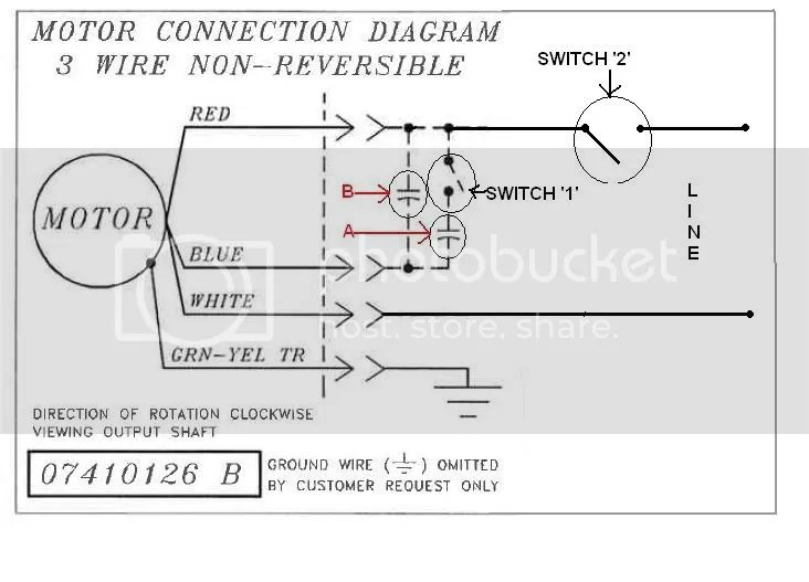 General Electric Motor Wiring Diagrams - Wiring Diagram Update