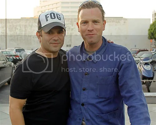 Ewan McGregor and Director Scott DiLalla