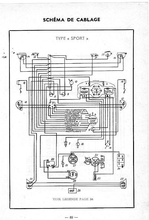 1954 mercury schema cablage