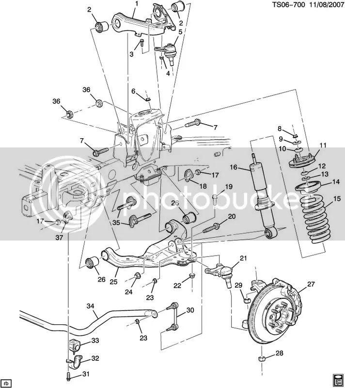 2005 chevrolet trailblazer Motor diagram