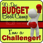 I'm Budget Boot Camp Challenger!