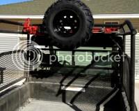 New Spare Tire & Jack Mount - RangerForums.net - Polaris ...